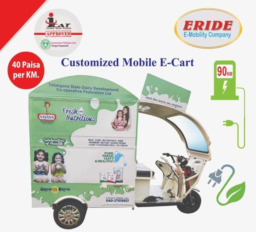 Livelihood Project In Hyderabad, Telangana & Andhra Pradesh For Subsidy & Loan on Electric Vehicles
