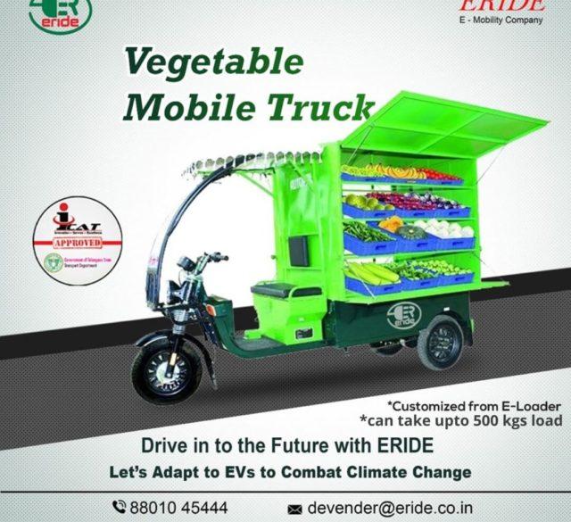 vegetable e-truck