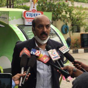 Vijaya Dairy Electric vehicle interview