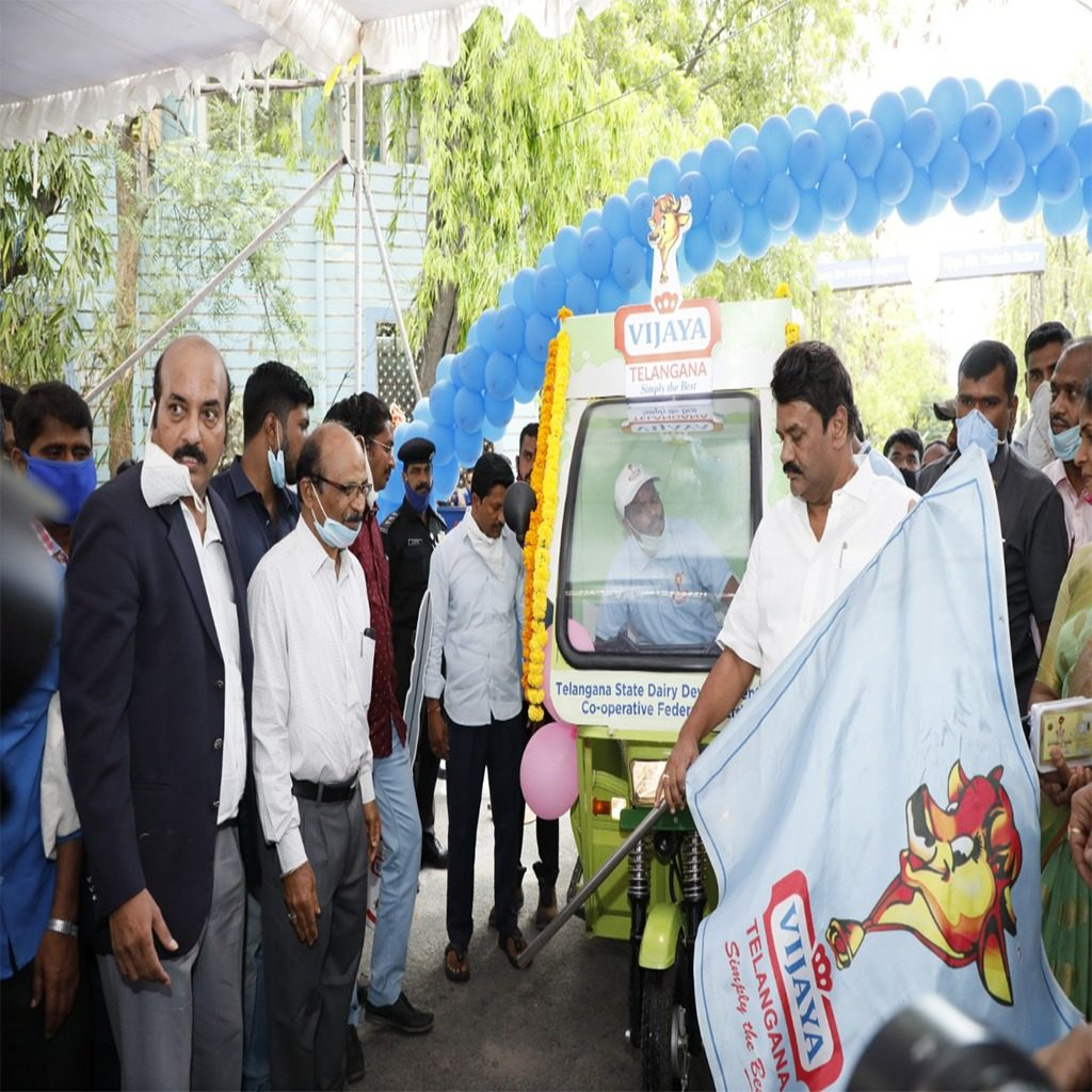 Vijaya Dairy Electric vehicle launch